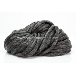 Super Bulky Acrylic Dark Grey 12