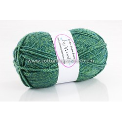 Ivy Wool Green Mixed 60a 100g