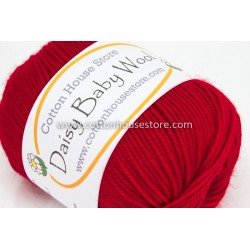 Daisy Baby Wool Bright Red 212