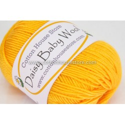 Daisy Baby Wool Dark Yellow 109