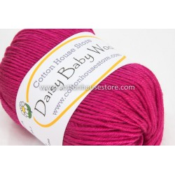 Daisy Baby Wool Raspberry 203