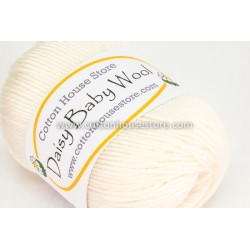 Daisy Baby Wool Off White 001