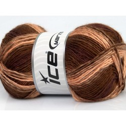 Rainbow Cafe Latte Brown Shades