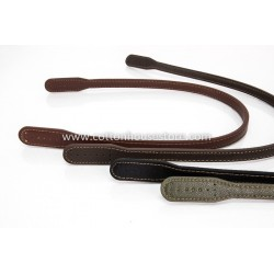 Imitation Leather Handles 153 Black 60cm (2pcs)