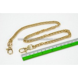 Purse Chain Handle Gold Tone 60cm BGH-126