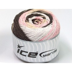 ICE Cakes Cotton White Pink Brown Shades
