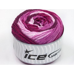 ICE Cakes Cotton Pink Shades Maroon Lilac