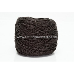 Fine Cotton Dark Brown w/ Metallic 158A