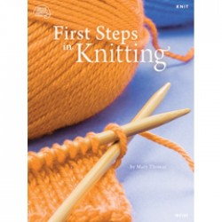 First Steps in Knitting BOK-013