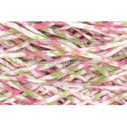 Fine Cotton 150A Splash White Green Pink (Flat Type)