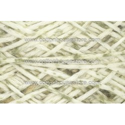 Fine Cotton 151A White Moss Green (Flat Type)