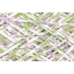 Fine Cotton 152A White Purple Green (Flat Type)