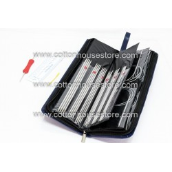 Aluminium Knitting Needle Set with Case CK-426