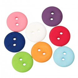 Frosted Round Button 20pcs BUT-064