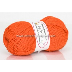 Ivy Wool A2024 Bright Orange 100g