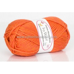 Ivy Wool A24 Orange Swirl 100g