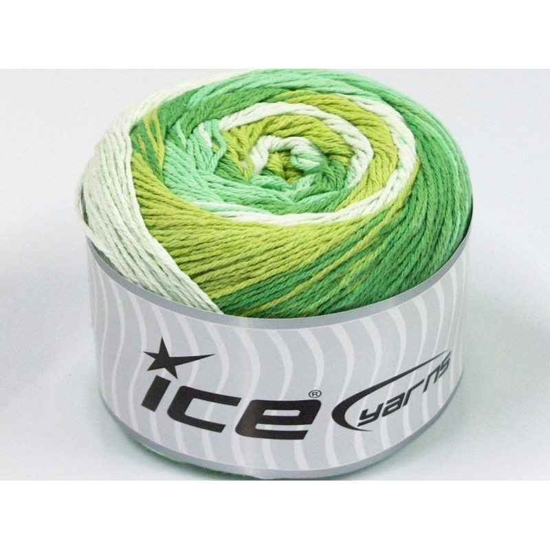 ICE Cakes Cotton Green Shades 50558