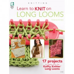 Learn to Knit on Long Looms BOK-031