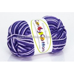 Candy Cotton Purple Shades S17