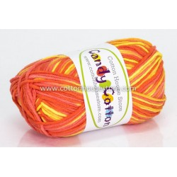 Candy Cotton Orange Yellow S03