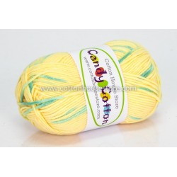 Candy Cotton Yellow Green S01