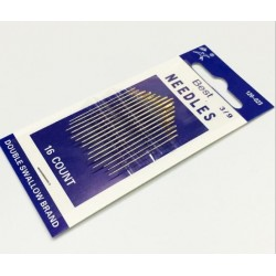 16pcs Sewing Needle Gold Eye