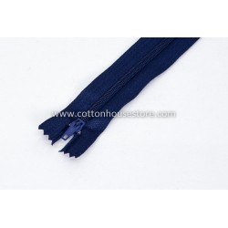 "Zipper 9"" Navy Blue 0051"
