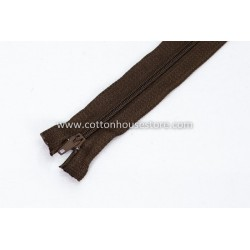 "Zipper 8"" Chocolate 0052"