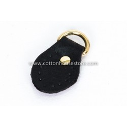 Sew Leather Black Strap With Buckle (2pcs) 216