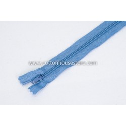 "Zipper 18"" Light Blue 0037"