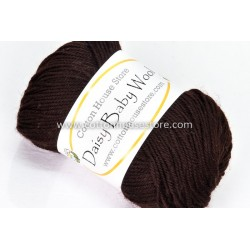 Daisy Baby Wool Dark Brown S36