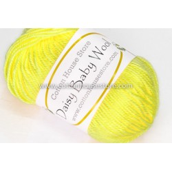 Daisy Baby Wool Yellow S07
