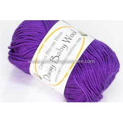 Daisy Baby Wool Purple S38