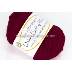 Daisy Baby Wool Deep Red S16