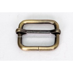 Buckle D Bronze Tone 34mm x 27mm 2pcs 222