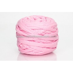 T-Shirt Yarn 200g Love Pink A35 (with dots)