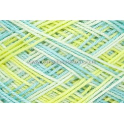Fine Cotton 085 Blue Yellow