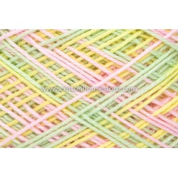 Fine Cotton 086 Pink Green Yellow