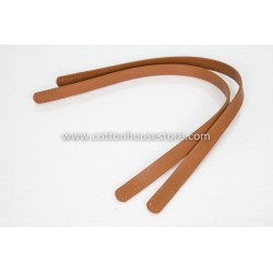 Imitation Leather Handles 242 Light Brown 60cm (2pcs)