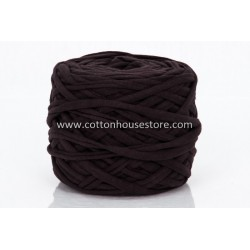 T-Shirt Yarn 200g Dark Brown A49