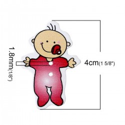 Wood Lovely Baby 10pcs BUT-083