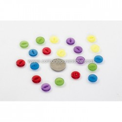 Round Resin 2 Holes Button...