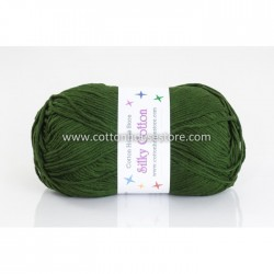 Silky Cotton Dark Green 59