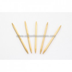 10cm SHORT Bamboo DPN 4.0mm US6
