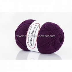 Milk Cotton Series Dark Purple 08
