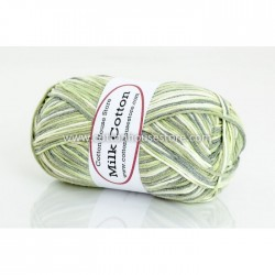 Milk Cotton Series Mixed Light Green 62