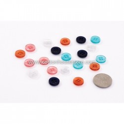 Mixed 4 Holes Resin Sewing Button (20pcs) BUT-045