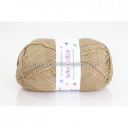 Silky Cotton Light Brown 18