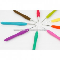 9 Pcs Colorful Crochet Hook...