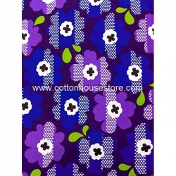 Cotton Fabric 20042 Flowers 4m